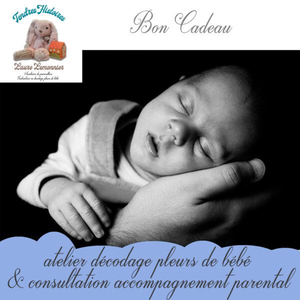 bon cadeau atelier DBL et accompagnement parental par Laure Lemonnier Tendres Histoires