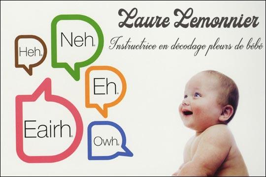 Laure Lemonnier instructrice en décodage pleurs de bébé