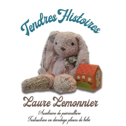 Logo Tendres Histoires de Laure Lemonnier