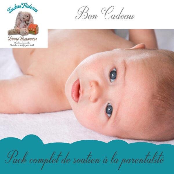 bon cadeau pack complet soutien à la parentalité par Laure Lemonnier Tendres Histoires