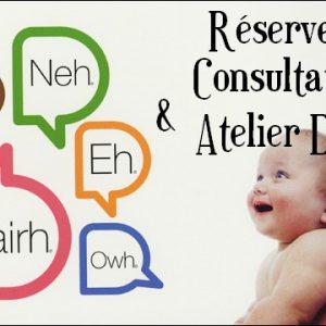 reservez atelier décodage pleurs de bééb et consultation parental avec Laure Lemonnier